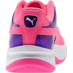 Thumbnail 3 of GV Special Mirror Metal Sneakers JR, KNOCKOUT PINK-Puma White, medium