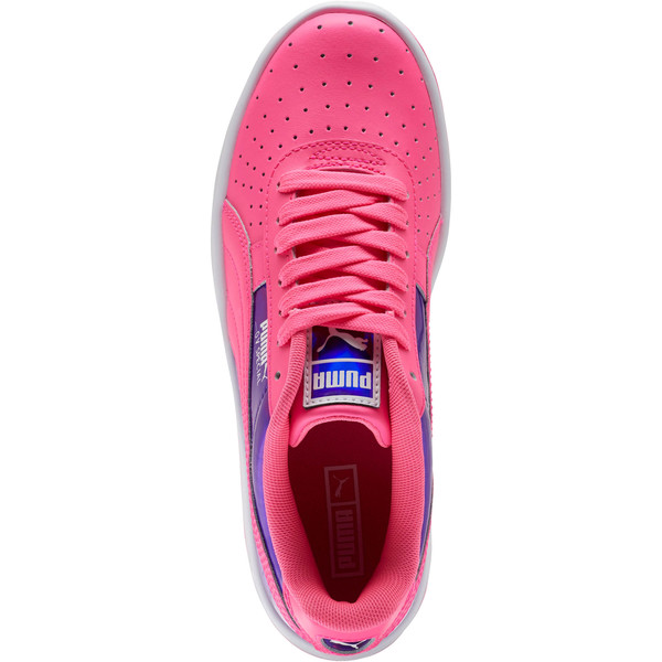 GV Special Mirror Metal Sneakers JR, KNOCKOUT PINK-Puma White, large