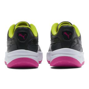 Thumbnail 3 of California 90s Women's Sneakers, Puma Black-Fuchsia Purple, medium