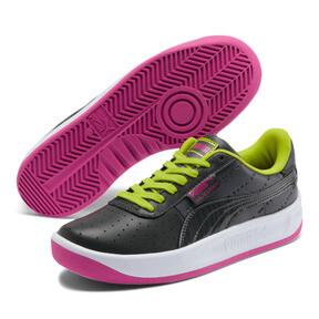 Thumbnail 2 of California 90s Women's Sneakers, Puma Black-Fuchsia Purple, medium