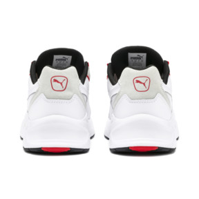 Thumbnail 4 of Nucleus Lux Sneaker, Puma White-High Risk Red, medium