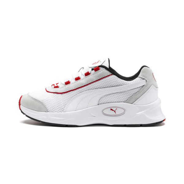 Nucleus Lux Sneaker, Puma White-High Risk Red, large