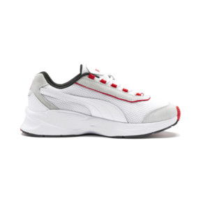 Thumbnail 6 of Nucleus Lux Sneaker, Puma White-High Risk Red, medium
