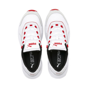 Thumbnail 7 of Nucleus Lux Sneaker, Puma White-High Risk Red, medium