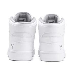 Thumbnail 3 of PUMA Rebound LayUp Sneakers JR, Puma White-Gray Violet, medium