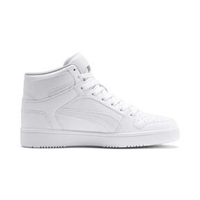 Thumbnail 5 of PUMA Rebound LayUp Sneakers JR, Puma White-Gray Violet, medium
