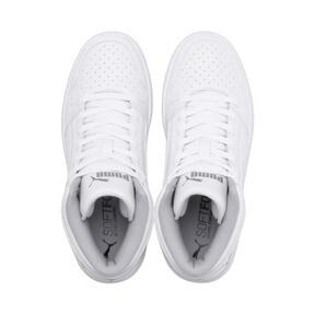 Thumbnail 6 of PUMA Rebound LayUp Sneakers JR, Puma White-Gray Violet, medium