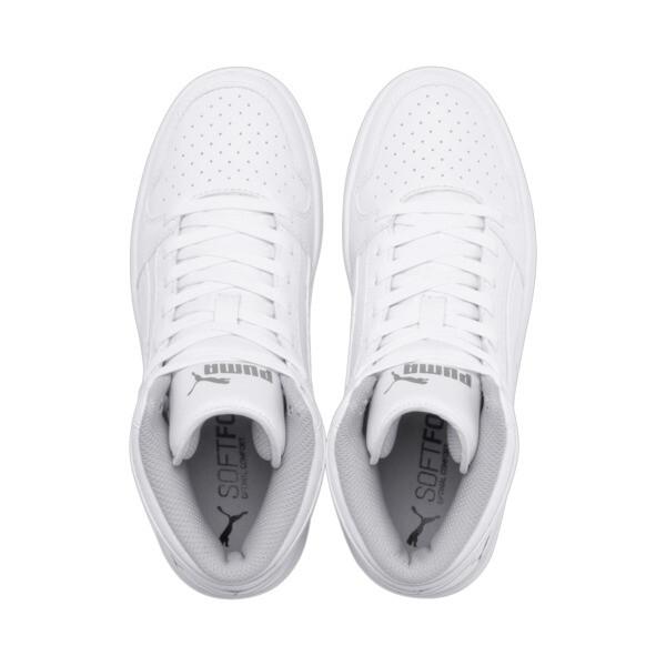 PUMA Rebound LayUp Sneakers JR, Puma White-Gray Violet, large