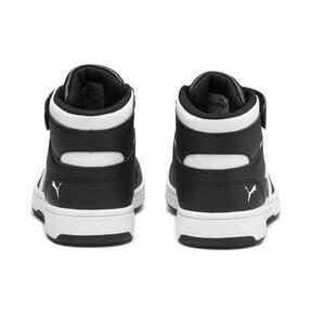 Thumbnail 3 of PUMA Rebound LayUp Sneakers PS, Puma Black-Puma White, medium