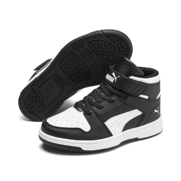 PUMA Rebound LayUp Sneakers PS, Puma Black-Puma White, large