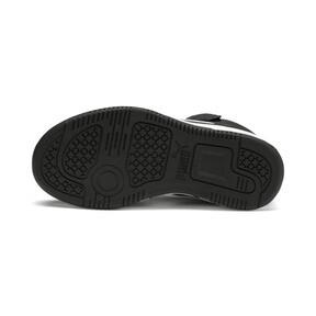 Thumbnail 4 of PUMA Rebound LayUp Sneakers PS, Puma Black-Puma White, medium