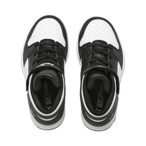 Thumbnail 6 of PUMA Rebound LayUp Sneakers PS, Puma Black-Puma White, medium