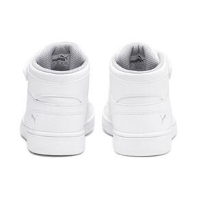 Thumbnail 3 of PUMA Rebound LayUp Sneakers PS, Puma White-Gray Violet, medium