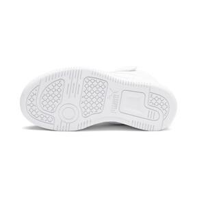 Thumbnail 4 of PUMA Rebound LayUp Sneakers PS, Puma White-Gray Violet, medium