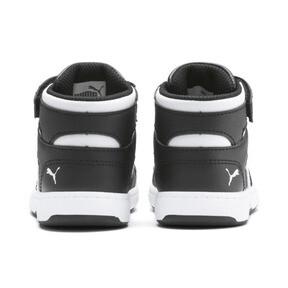 Thumbnail 3 of PUMA Rebound LayUp Sneakers INF, Puma Black-Puma White, medium