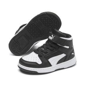 Thumbnail 2 of PUMA Rebound LayUp Sneakers INF, Puma Black-Puma White, medium