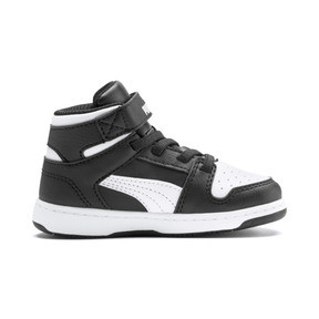 Thumbnail 5 of PUMA Rebound LayUp Sneakers INF, Puma Black-Puma White, medium