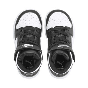 Thumbnail 6 of PUMA Rebound LayUp Sneakers INF, Puma Black-Puma White, medium