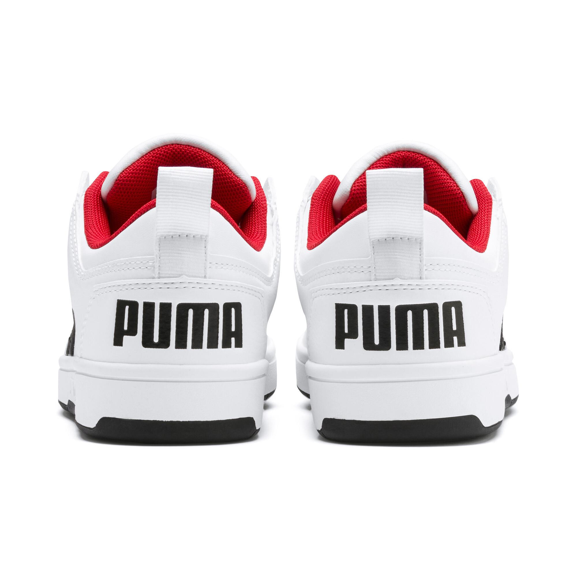 PUMA-PUMA-Rebound-LayUp-Lo-Sneakers-JR-Boys-Shoe-Kids thumbnail 9
