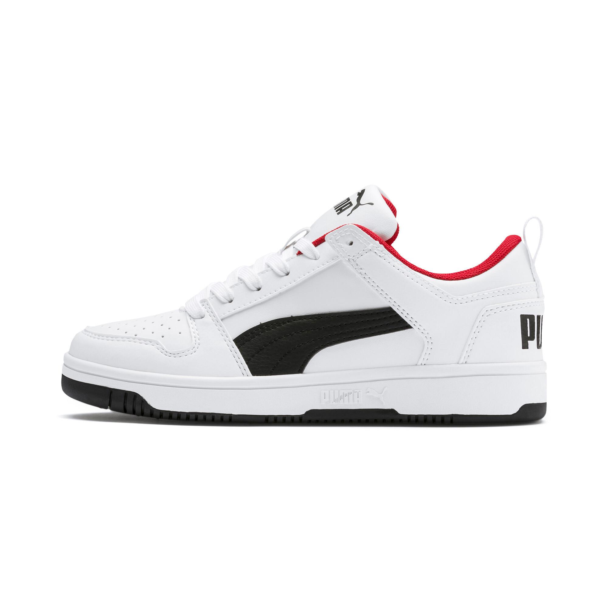 PUMA-PUMA-Rebound-LayUp-Lo-Sneakers-JR-Boys-Shoe-Kids thumbnail 10