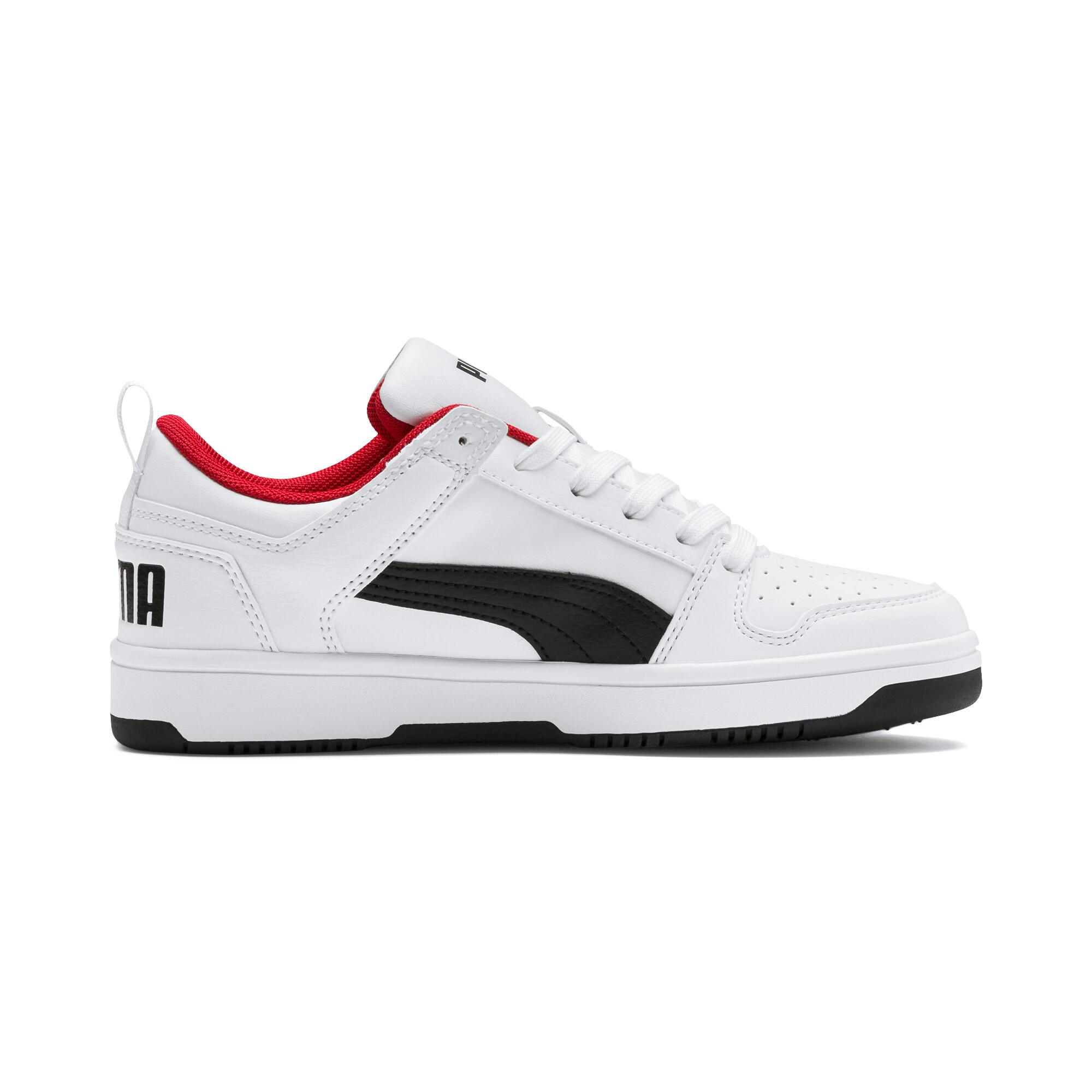 PUMA-PUMA-Rebound-LayUp-Lo-Sneakers-JR-Boys-Shoe-Kids thumbnail 12