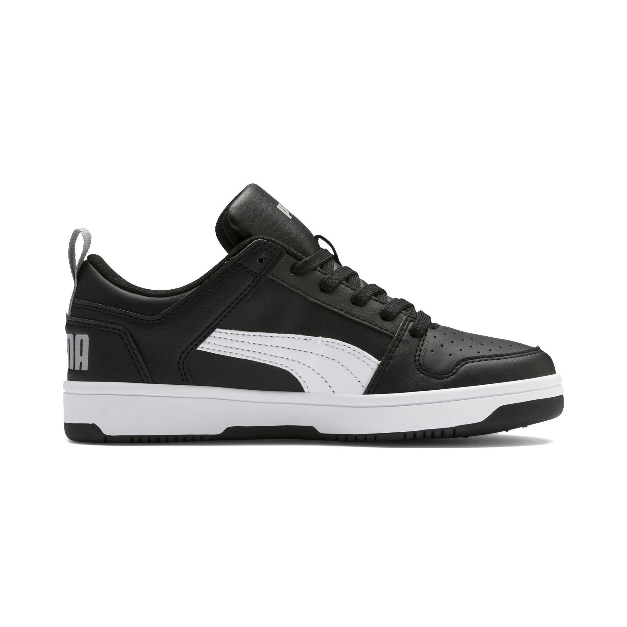 PUMA-PUMA-Rebound-LayUp-Lo-Sneakers-JR-Boys-Shoe-Kids thumbnail 18