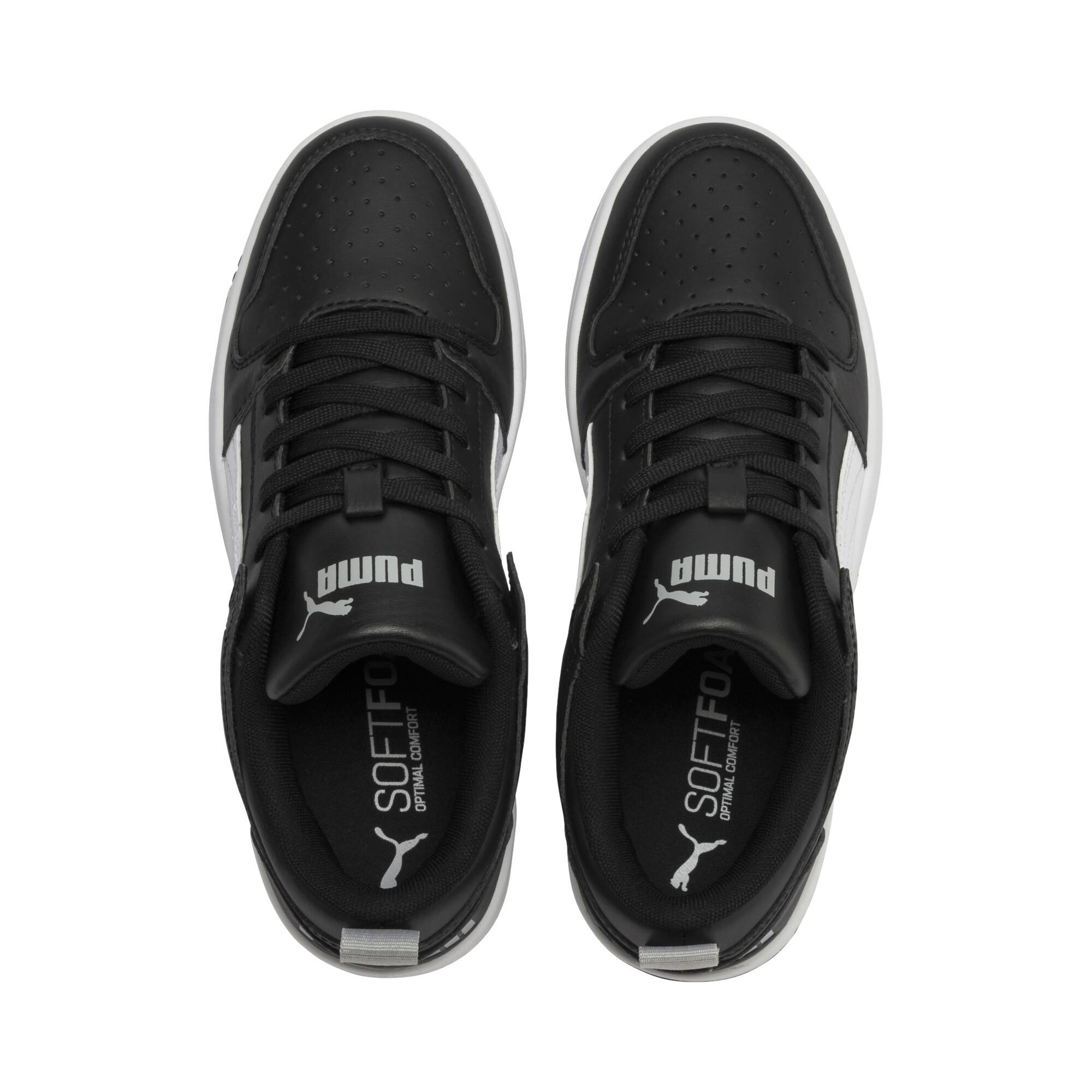 PUMA-PUMA-Rebound-LayUp-Lo-Sneakers-JR-Boys-Shoe-Kids thumbnail 19