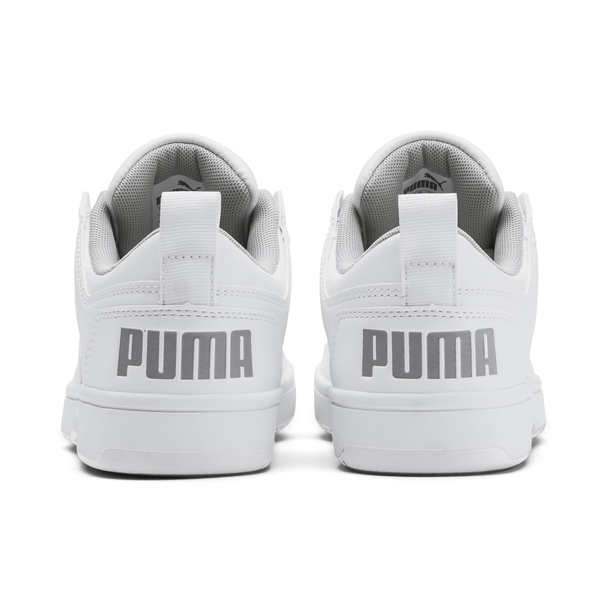 PUMA-PUMA-Rebound-LayUp-Lo-Sneakers-JR-Boys-Shoe-Kids thumbnail 3
