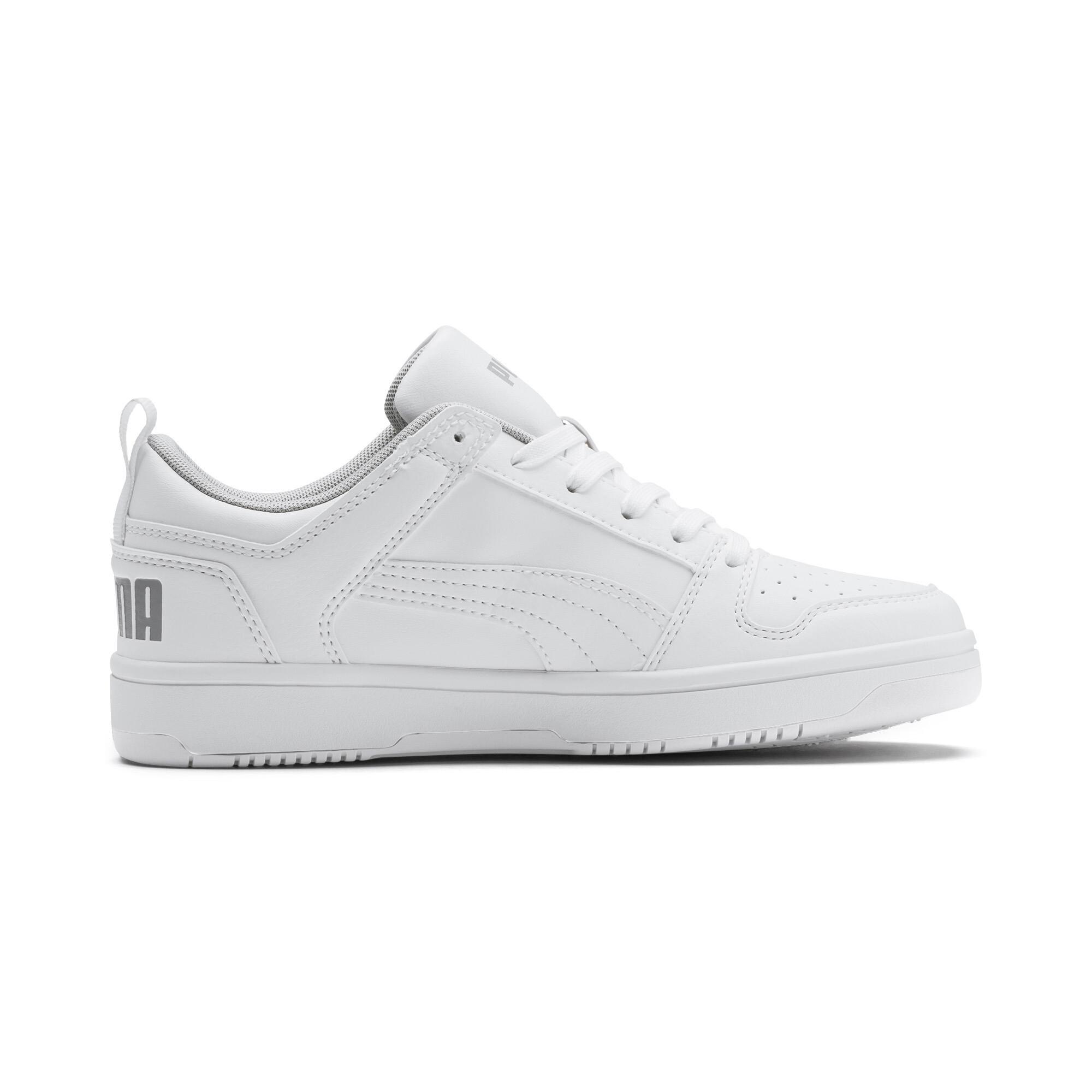 PUMA-PUMA-Rebound-LayUp-Lo-Sneakers-JR-Boys-Shoe-Kids thumbnail 6