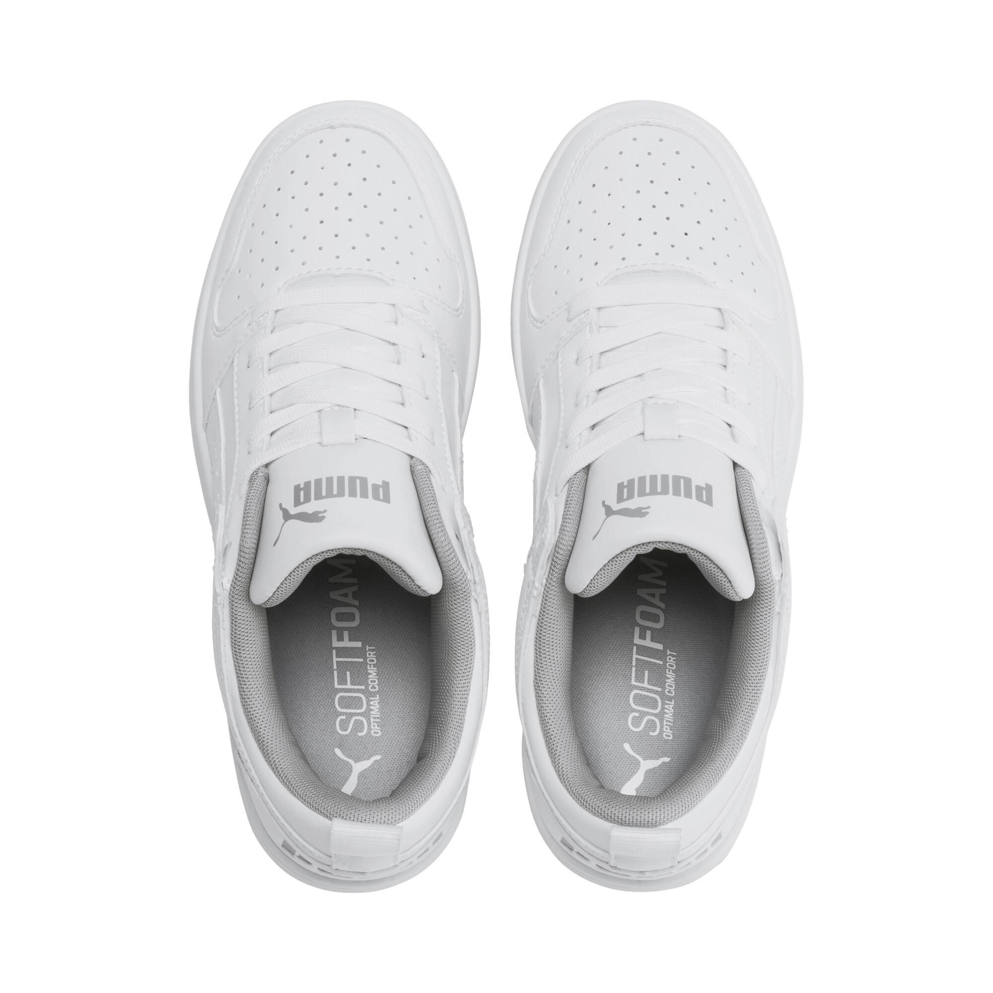 PUMA-PUMA-Rebound-LayUp-Lo-Sneakers-JR-Boys-Shoe-Kids thumbnail 7
