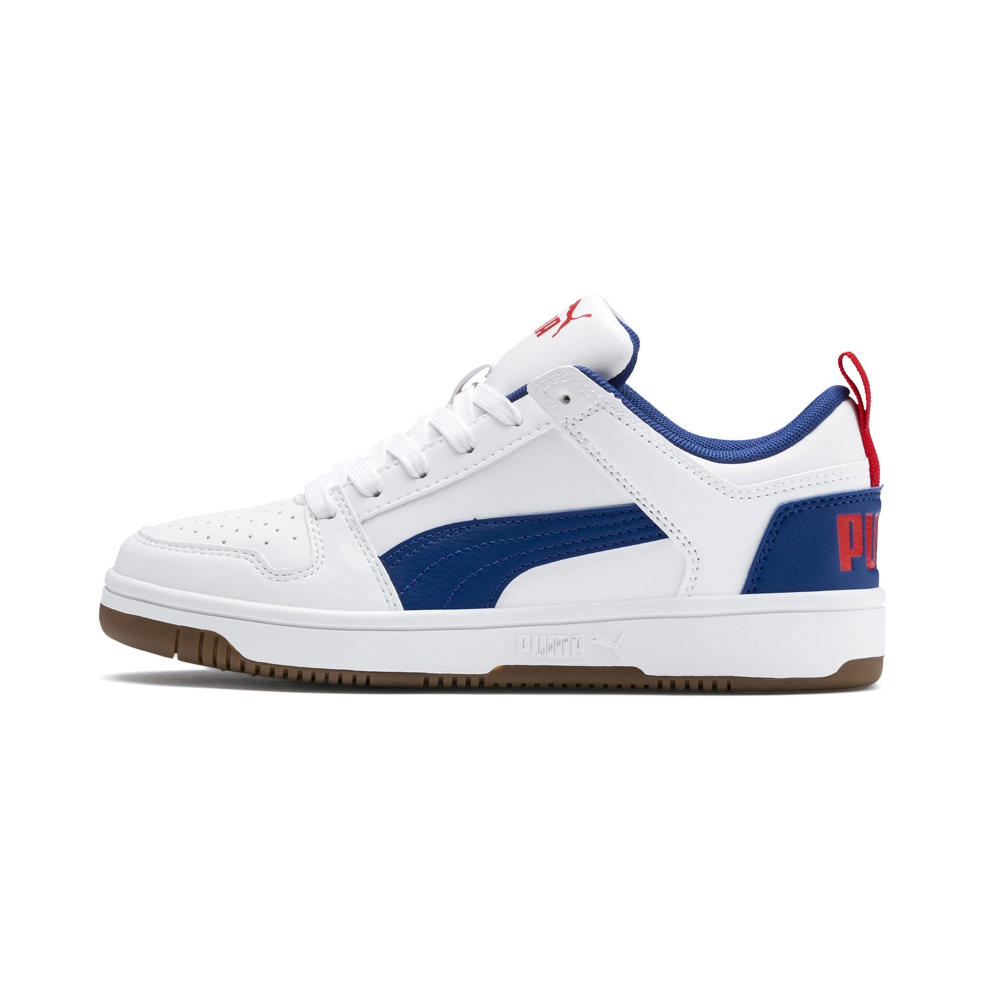 PUMA-PUMA-Rebound-LayUp-Lo-Sneakers-JR-Boys-Shoe-Kids thumbnail 22