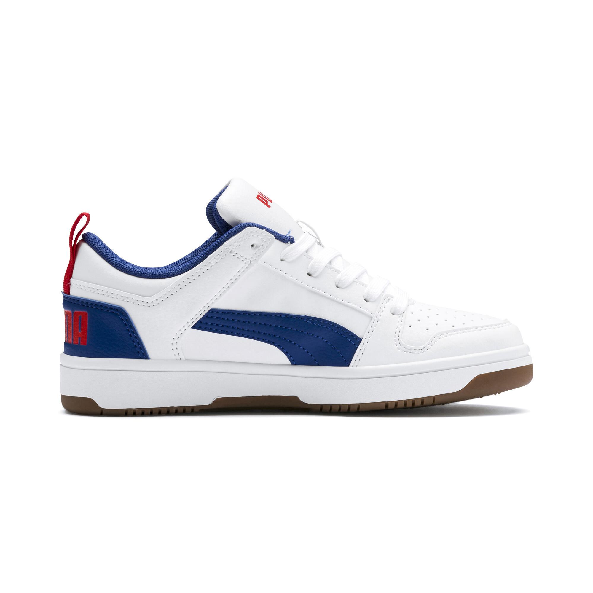 PUMA-PUMA-Rebound-LayUp-Lo-Sneakers-JR-Boys-Shoe-Kids thumbnail 24