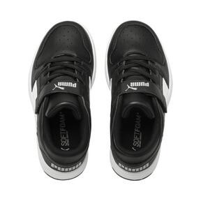 Thumbnail 6 of PUMA Rebound LayUp Lo Sneakers PS, Puma Black-White-High Rise, medium