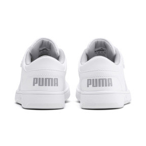Thumbnail 3 of PUMA Rebound LayUp Lo Sneakers PS, Puma White-High Rise, medium
