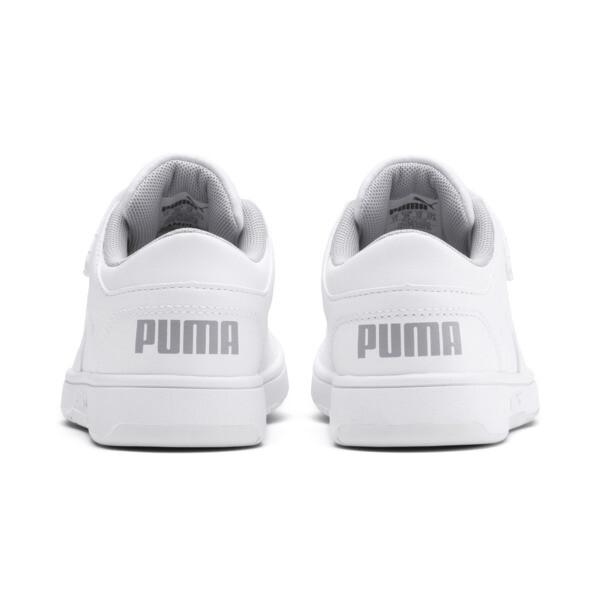 PUMA Rebound LayUp Lo Sneakers PS, Puma White-High Rise, large