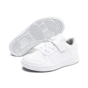 Thumbnail 2 of PUMA Rebound LayUp Lo Sneakers PS, Puma White-High Rise, medium