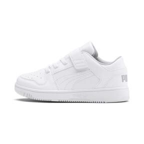 Thumbnail 1 of PUMA Rebound LayUp Lo Sneakers PS, Puma White-High Rise, medium