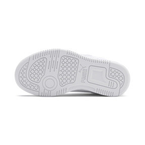 Thumbnail 4 of PUMA Rebound LayUp Lo Sneakers PS, Puma White-High Rise, medium
