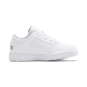 Thumbnail 5 of PUMA Rebound LayUp Lo Sneakers PS, Puma White-High Rise, medium