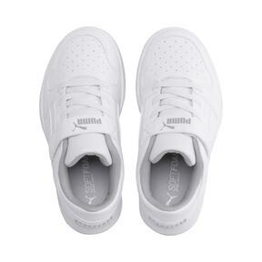Thumbnail 6 of PUMA Rebound LayUp Lo Sneakers PS, Puma White-High Rise, medium