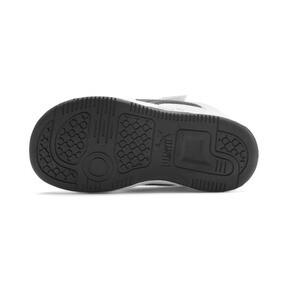 Thumbnail 4 of PUMA Rebound LayUp Lo Sneakers INF, Puma White-Puma Black-Red, medium