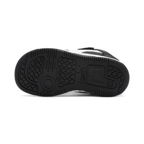 Thumbnail 4 of PUMA Rebound LayUp Lo Sneakers INF, Puma Black-White-High Rise, medium