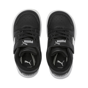 Thumbnail 6 of PUMA Rebound LayUp Lo Sneakers INF, Puma Black-White-High Rise, medium