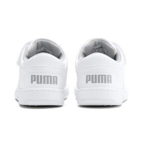 Thumbnail 3 of PUMA Rebound LayUp Lo Sneakers INF, Puma White-High Rise, medium