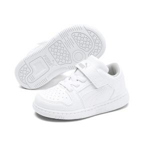 Thumbnail 2 of PUMA Rebound LayUp Lo Sneakers INF, Puma White-High Rise, medium