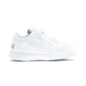 Thumbnail 5 of PUMA Rebound LayUp Lo Sneakers INF, Puma White-High Rise, medium