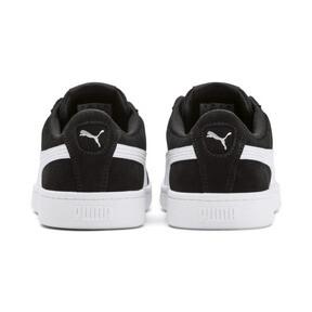 Thumbnail 3 of PUMA Vikky v2 Suede Sneakers JR, Puma Black-Puma White-Silver, medium