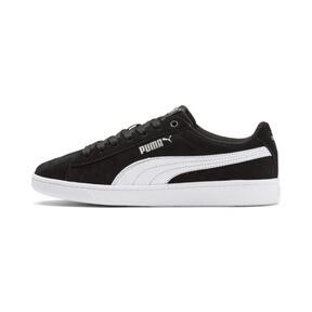 Thumbnail 1 of PUMA Vikky v2 Suede Sneakers JR, Puma Black-Puma White-Silver, medium