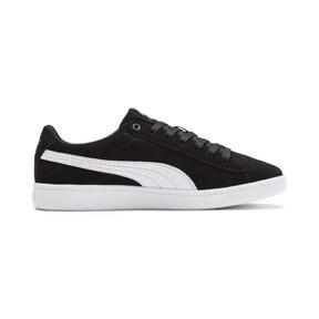 Thumbnail 5 of PUMA Vikky v2 Suede Sneakers JR, Puma Black-Puma White-Silver, medium