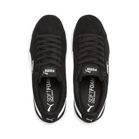Thumbnail 6 of PUMA Vikky v2 Suede Sneakers JR, Puma Black-Puma White-Silver, medium